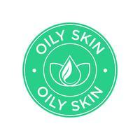 Icono de piel grasa