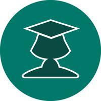 Vektor-Studentin-Symbol