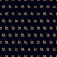 Patrón sin fisuras con oro abeja