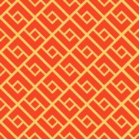 Abstract geometric seamless pattern. Chinese background.