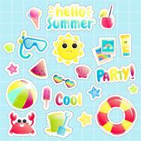 """""""Ciao estate"""" Set di simpatici oggetti in mare aperto"""