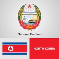 Emblema nazionale, mappa e bandiera