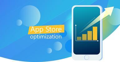 UI app design mobile phone banner vector