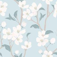 Spring floral texture