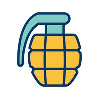 icône de vecteur de grenade