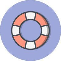 Reddingsboei Vector Icon