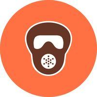 Gas mask Vector Icon