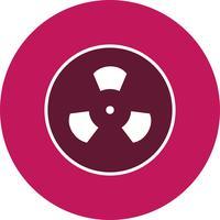 Icono de Vector de radiación