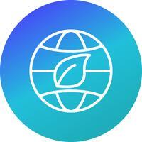 Eco World Vector Icon