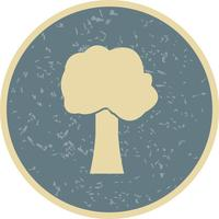 Icône de vecteur d'arbre