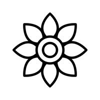 Flower Vector Icon