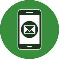 Message Mobile Application Vector Icon