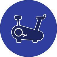 Vector Vector Cycling Machine Icon