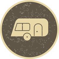 Icona di vettore del caravan