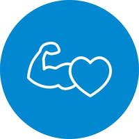 Vector Healthy Heart Icon