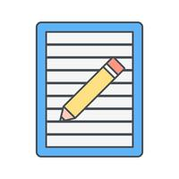 Post it Vector Icon