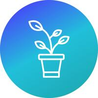 Sprout Vector Icon