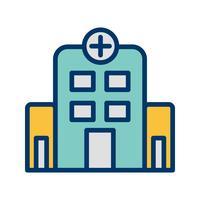 Vektor sjukhus ikon