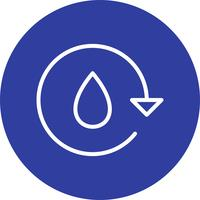Water Recycle Vector Icon