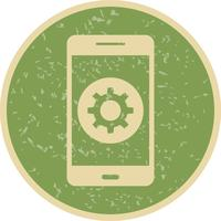 Setting Mobile Application Vector Icon