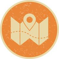 Planera karta Vector Icon