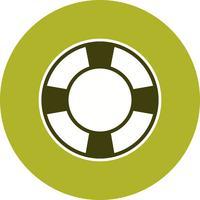 Ícone de vetor de salva-vidas
