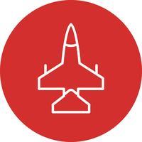 Icono de Vector de Jet