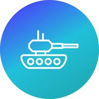 tank vector pictogram
