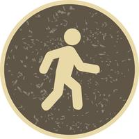 Vector Walking Icon