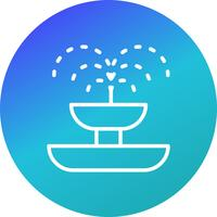 Fountain Vector Icon