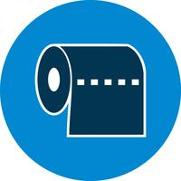 Toiletpapier Vector Icon
