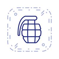 Granate-Vektor-Symbol