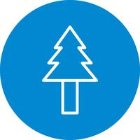 Pine Tree Vector Icon