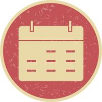 Calendrier Vector Icon