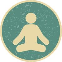 Vector Yoga Icon