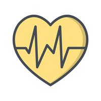 Vector Heart Beat-pictogram