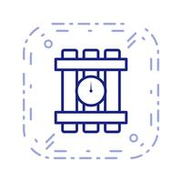 Dynamit-Vektor-Symbol