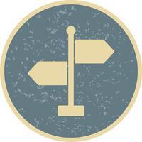 Ícone de vetor de direção