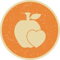 Vector gezonde voeding pictogram