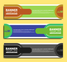 PLANTILLA DE BANNER ABSTRACT