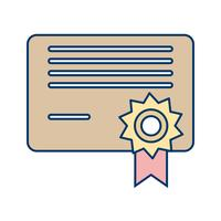 Vector Diploma Icon
