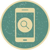 Search Mobile Application Vector Icon