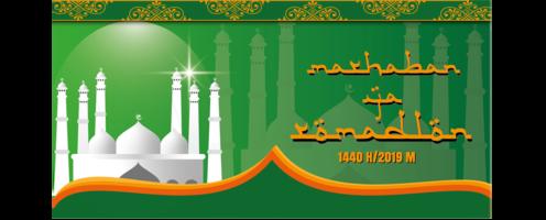 ramadan sjabloon voor spandoek