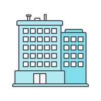 Icono de vector de oficina
