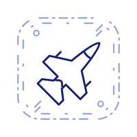 Jet Vector Icon