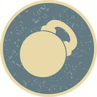 Vektor-Kettlebell-Symbol
