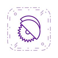 Circular saw Vector Icon