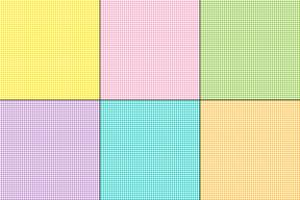 Easter gingham plaids vector