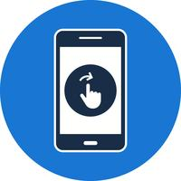 Swipe Mobile Application Vector Icon