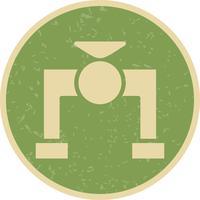 Ventil-Vektor-Symbol
